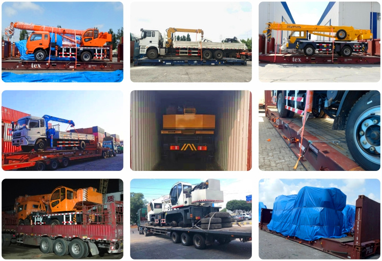 Cranes construction dead weight 18 ton lifting 12/16 ton small truck crane for sale