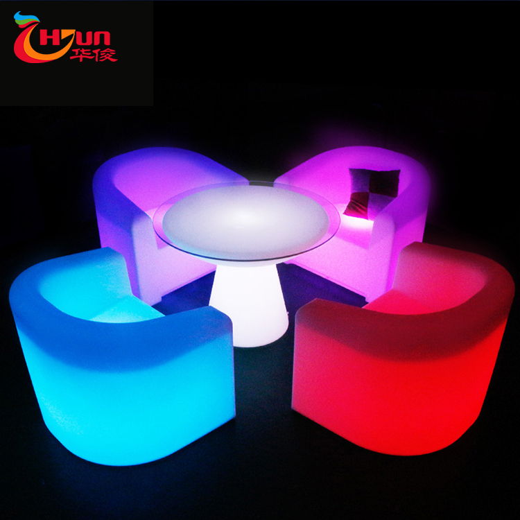 2020 New Product Modern Change Color By Remote Waiting Room <strong>Furniture</strong> Led <strong>Furniture</strong> For Hotel Room
