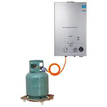 18L Propane Hot Water <strong>Heater</strong> 36KW Tankless Instant Boiler Stainless Gas Water <strong>Heater</strong> with Shower Head Kit