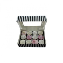 Eco friendly food grade packaging box recycled bakery box for cake pastry