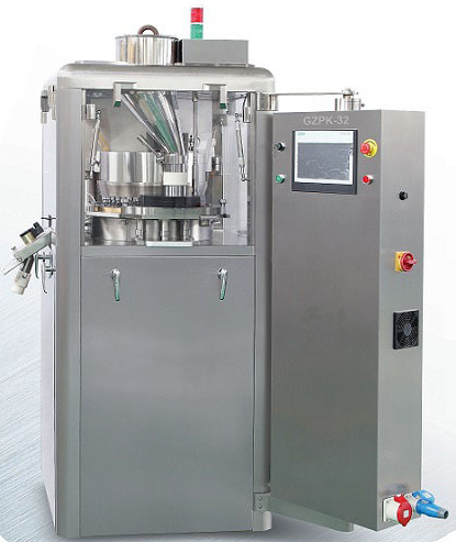 Good price from China GZPK Rotary Tablet Press Machine high speed Tableting Machine For export.