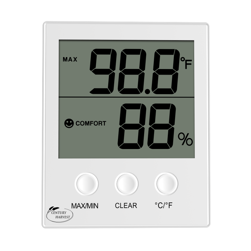 CH-905 Well Priced large display room temperature indicator hygro-thermometer greenhouse and humidity sensor