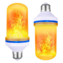 Led Flame Light E27 B22 Blue Flame Decoration Effect Fire Light Led Flame <strong>Bulb</strong>