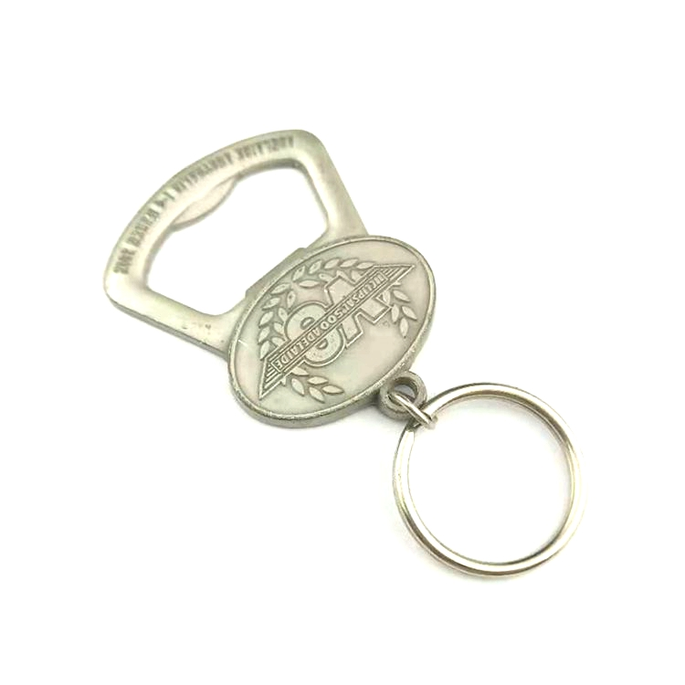 Most professional silver  metal souvenir beer bottle opener made in china