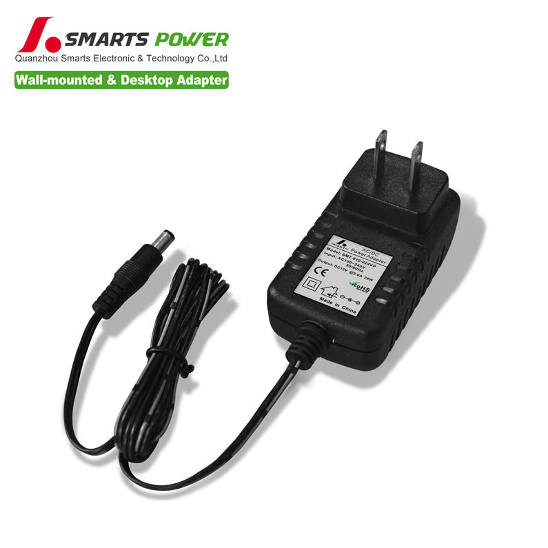 24v 1a 24w wall-mounted ac/dc switching power <strong>adapter</strong>