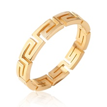 Elegant fashion unisex ceramic stainless steel brand high quality <strong>rings</strong> for gift party