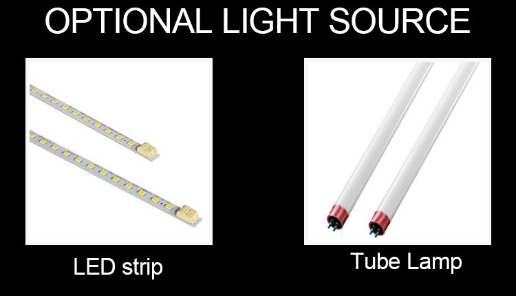 New model workbench fluorescent light fitting aisle replace T5 T8 linear luz led tube lamp