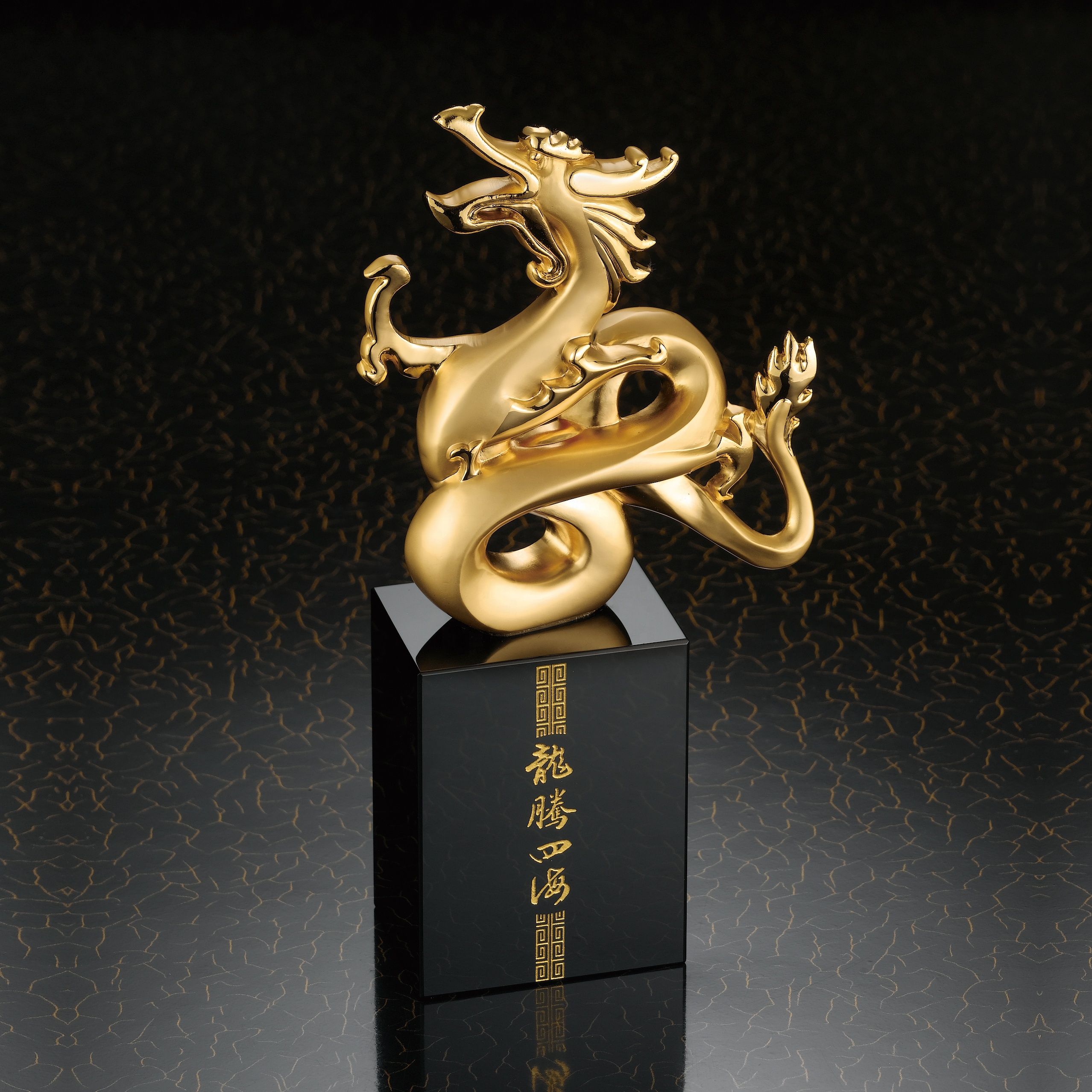 Custom logo gold plated trophy <strong>metal</strong> and crystal trophy