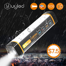UYLED 2020 New Product X5 Mini Waterproof IP65 Power Bank Mosquito Repellent Magnetic Rechargeable Flashlight <strong>LED</strong> Camping Light