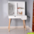 Mirrored dressing table storage design for bedroom