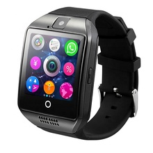 Q18 <strong>Smart</strong> <strong>Watch</strong> With Touch Screen Camera TF Card Wireless Smartwatch for Android for iPhone