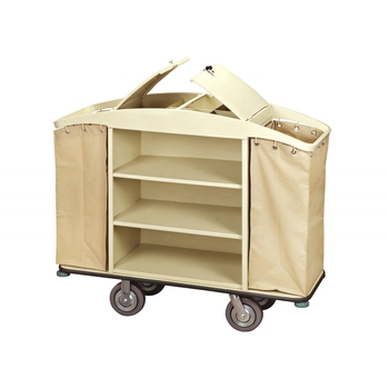 High quality hotel room cleaning service trolley