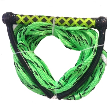 1/2' PE 16 Strand Wakeboard Rope - Trick Handle With Phat Grip