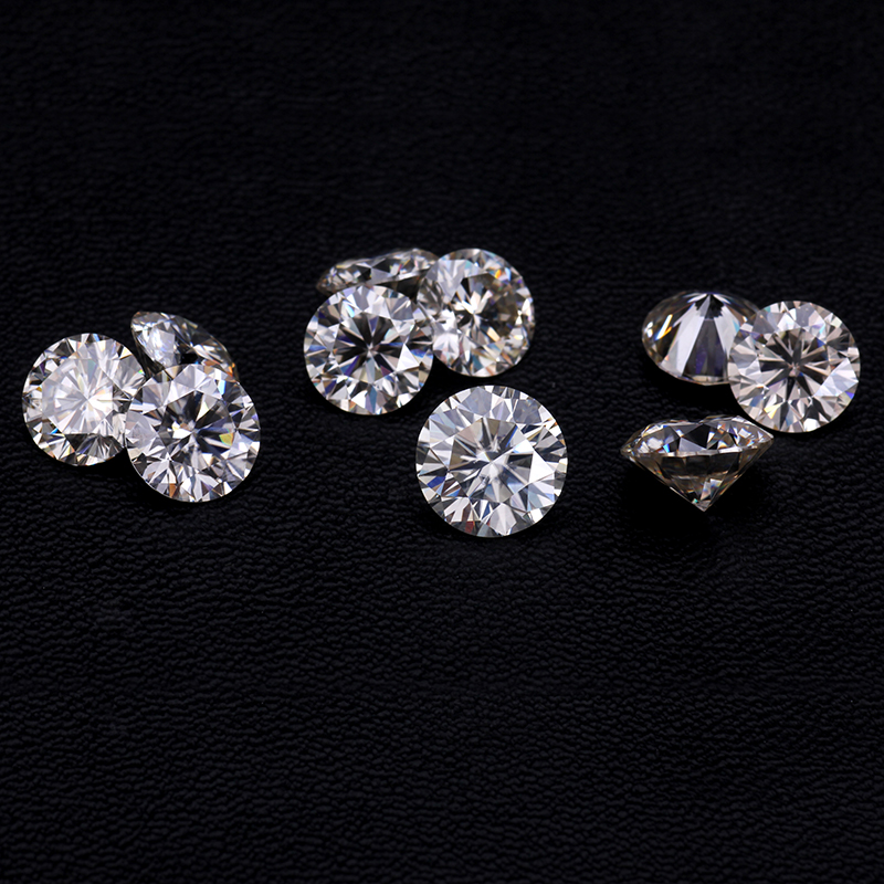 Starsgem certified moissanite round <strong>cut</strong> 5mm moissanite