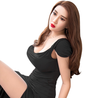 165cm huge breasts metal skeleton tpe mini Japanese sexy love doll hot sexy women love dolls adult sex toy