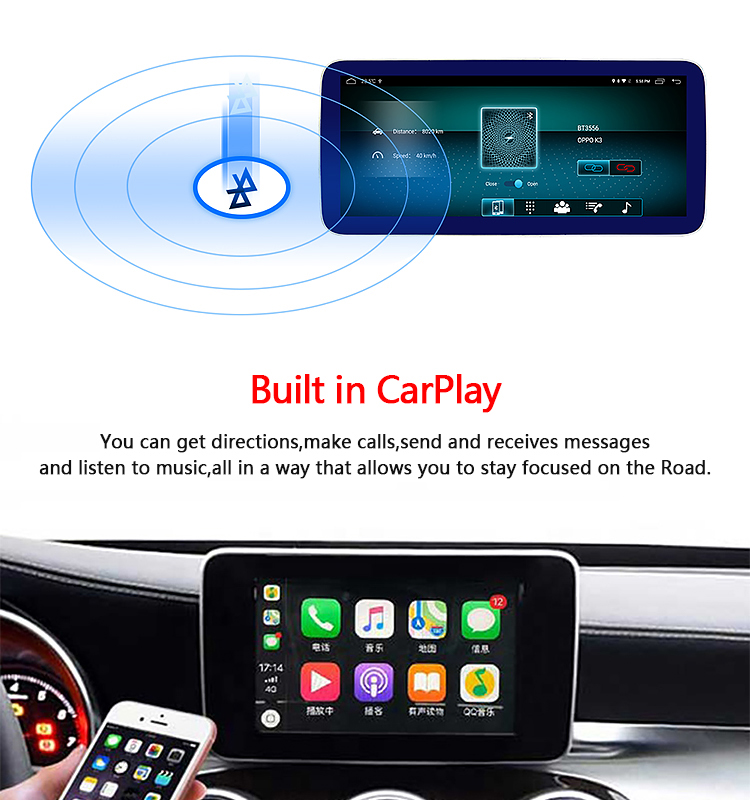 NaviHua Android 10.1 car gps stereo dvd player for Mercedes Benz ML W164 ML350 ML430 ML450 ML500 2012-2015 Blu-ray HD Headunit