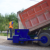 road distributor aggregate stone chip spreader truck