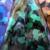 Hologram Burnish Synthetic Thick Leather Fabric Wholesale