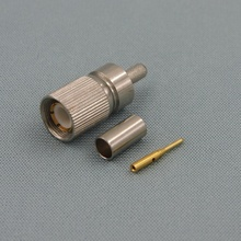1.6/5.6 Male Crimp 75ohm Connector For BT3002 Cable