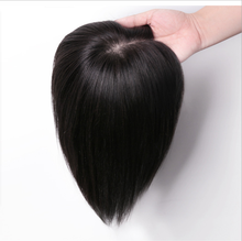 Straight Hair Toupee natural Color Hairpieces for Women Remy human hair toupee