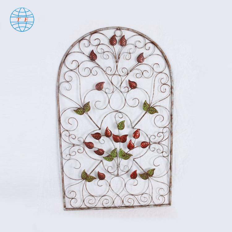 Simple and generous beautiful metal home background decorative wall art