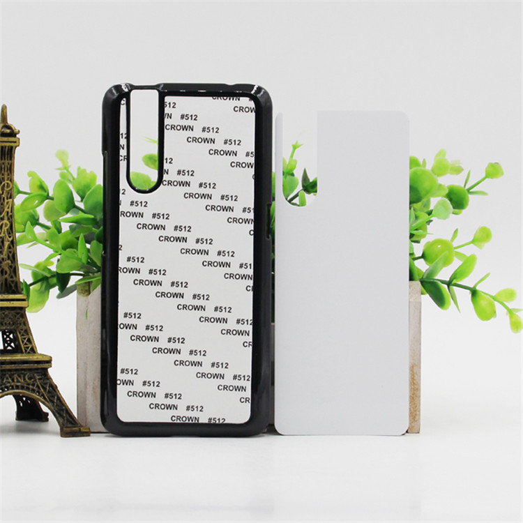 Stock Wholesale Sublimation Cell <strong>Phone</strong> Case 2D PC Blank Back <strong>Cover</strong> Mobile Case For Vivo V15 Pro