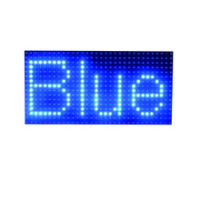 Outdoor waterproof <strong>P10</strong> single blue led display screen module 320mm*160mm 1/4 scan