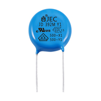 Wholesale Safety Electronic components AC y1 500v 392 Ceramic Disc Capacitor