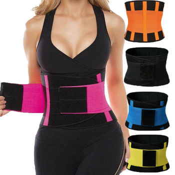 plus size underbust latex waist cincher Classic Design Sport Girdle Belt Stretchable Corset Belts For Women