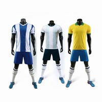 Latest Design 2019 2020 Thai Quality Soccer Jersey Sets Wholesale Soccer Wear