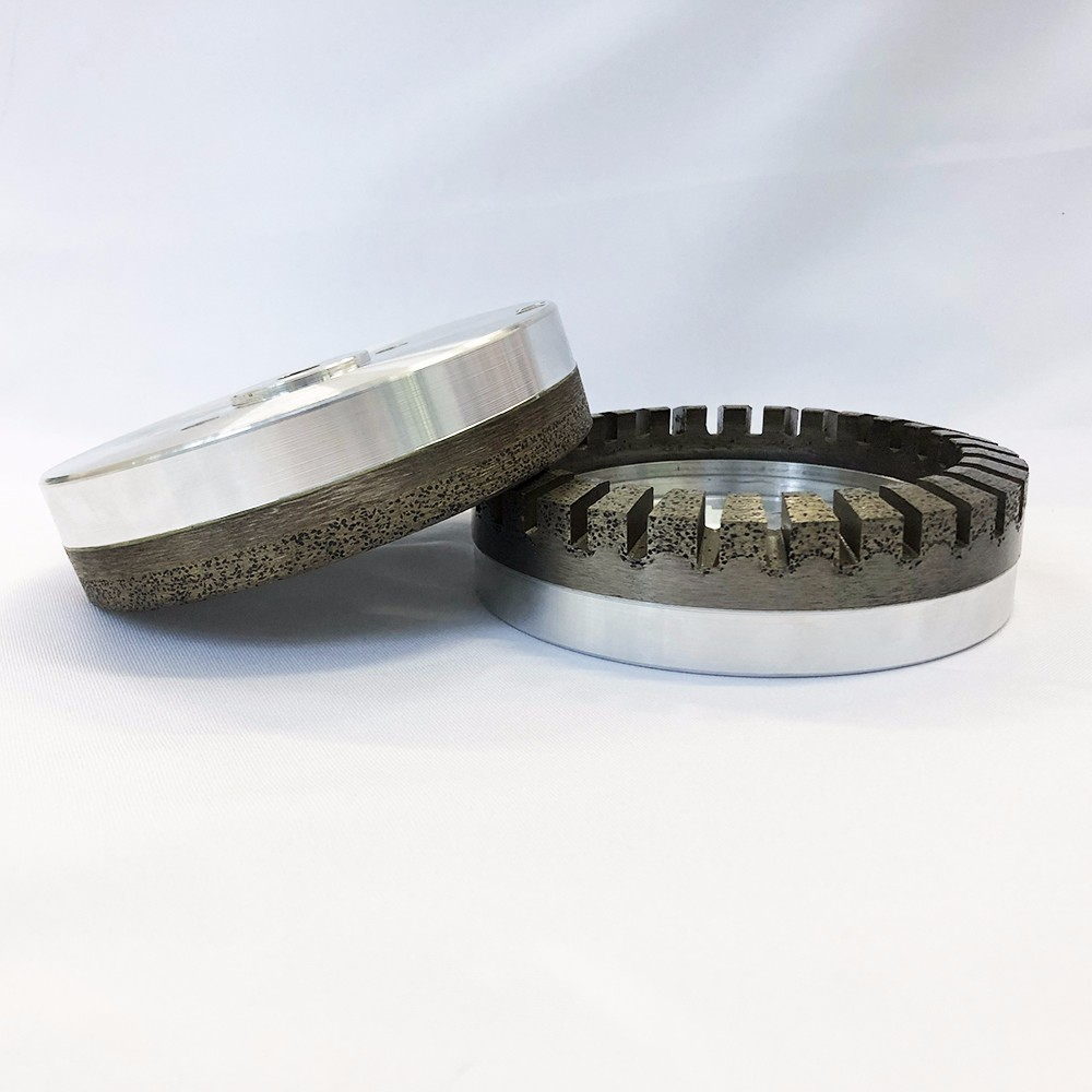 150mm Full segment Continuous glass processing grinding cup diamond wheel for beveling <strong>machine</strong>(150*36)