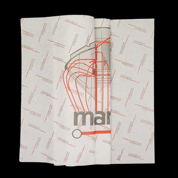 Custom designed hort sale fashion gift wrap tissue paper tissue paper with logo free digital proof