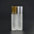 empty  matte frosted 10ml 15ml  essential oil  perfume roll on  glass Bottle with Stainless Steel Roller Ball