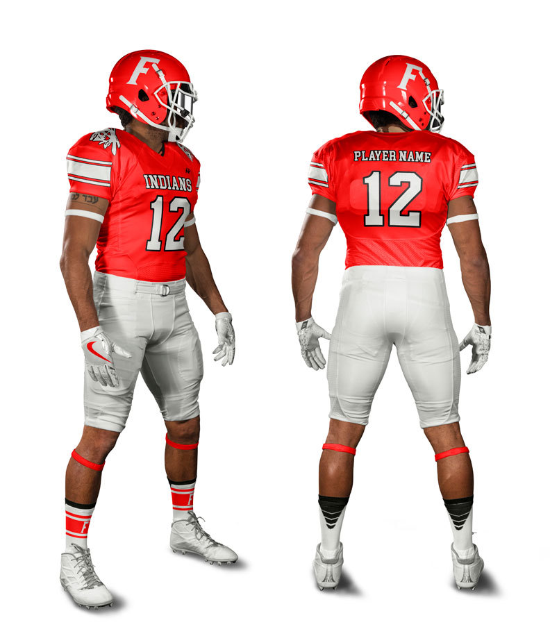 High Quality Sublimated Football Uniform Custom American Football Jersey Wear