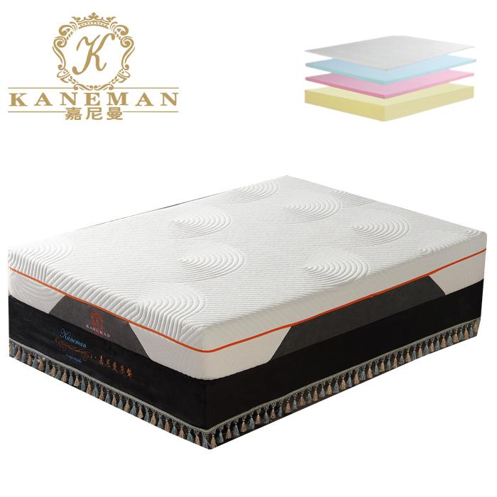 10 inch folded roll packing latex memory foam mattress anti-allergy - Jozy Mattress | Jozy.net