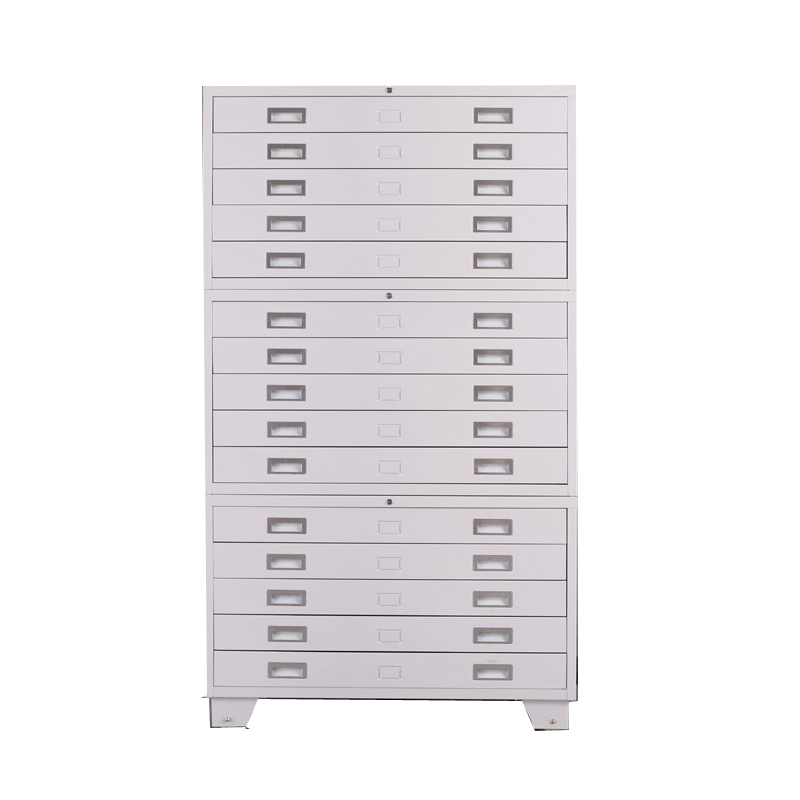Hot Sale durable Office Metal Drawer Map Filing Cabinets