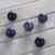 fashion diy jewelry beads sodalite tiger eye smooth round stone loose beads 14mm without hole