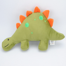 Cartoon Kids plush baby <strong>animal</strong> shaped dinosaur pillow