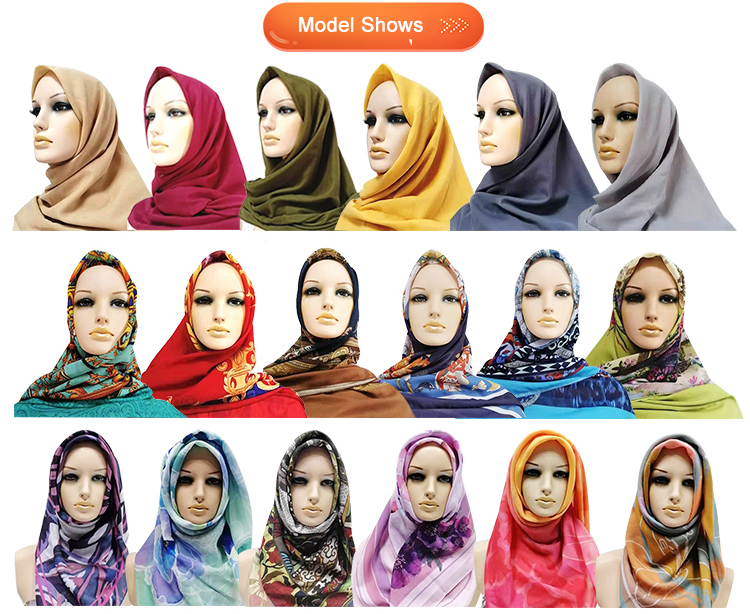 Wholesale women shawl scarf muslim arab hijab picture scarf
