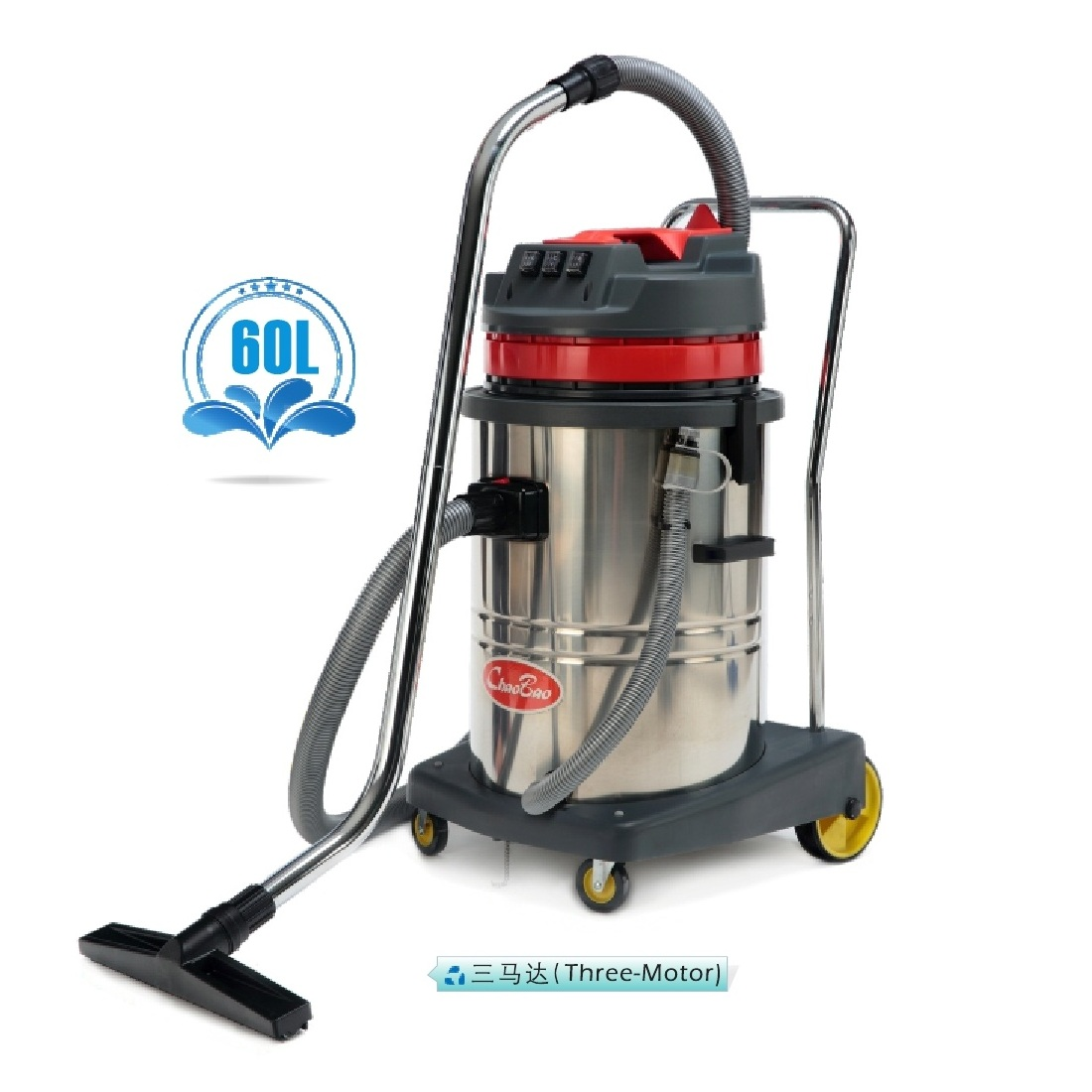 Stainless Steel Wet And Dry Vacuum Cleaner