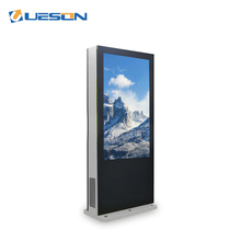 Outdoor lcd portable digital signage reclame monitor Android touch screen kiosk ad <span class=keywords><strong>speler</strong></span>