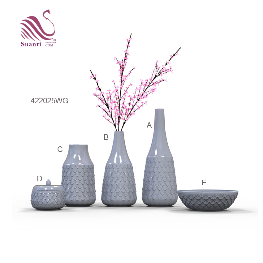 Wedding & Home Decor  Ceramic Large Flower Vases Series