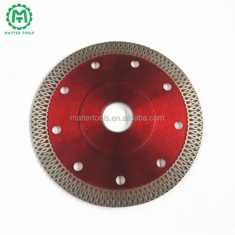 Hand Machine Tools of Continuous Rim Red Tile Cutter Wet Saw