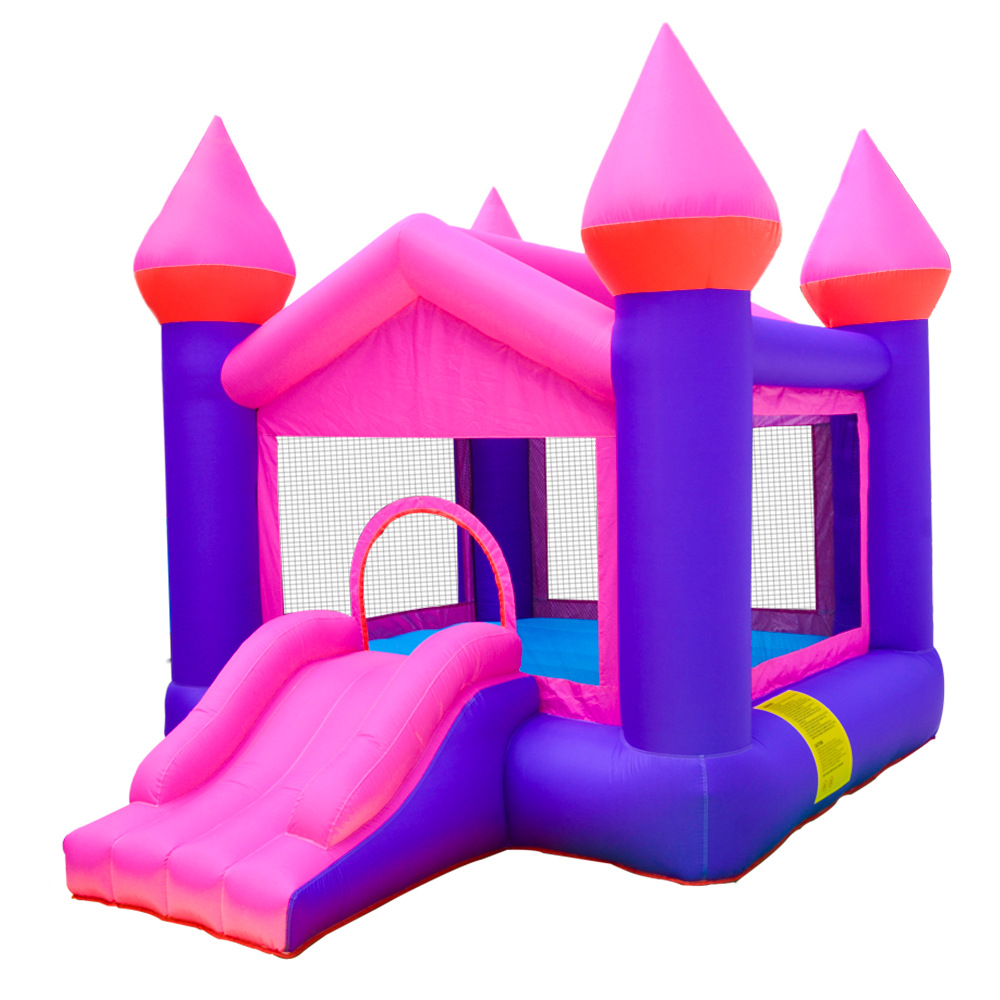 Wholesale kids inflatable bouncer commercial bouncy colorful inflatable water slide jumping castle for sale