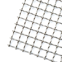 AISI304 Crimped Woven Sieve <strong>Mesh</strong> With Aftersales Services Available