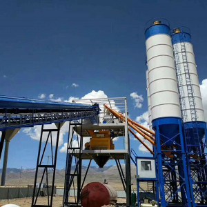 HZS90 concrete mixing plant ready mix batching plant