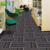 Striped soundproof carpet rugs indoor wall to wall