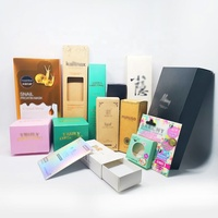 paper gift box kraft with logo printing box customized