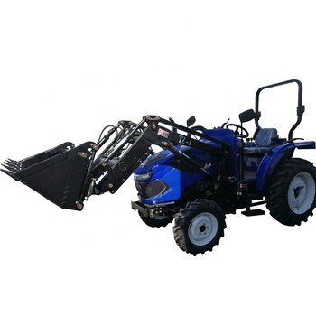 New design factory supply tractor 40 hp 4wd with front loader