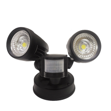 hot selling IP54 twin heads security led light 2X13W die-cast aluminum sensor security led light